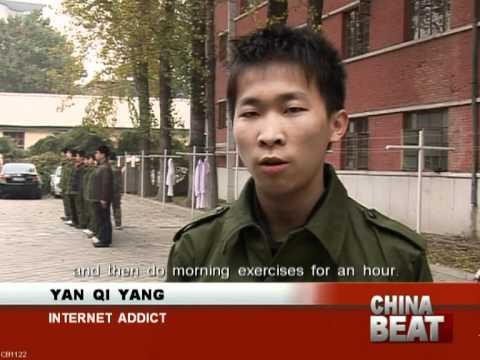 Internet Addiction Camps In China