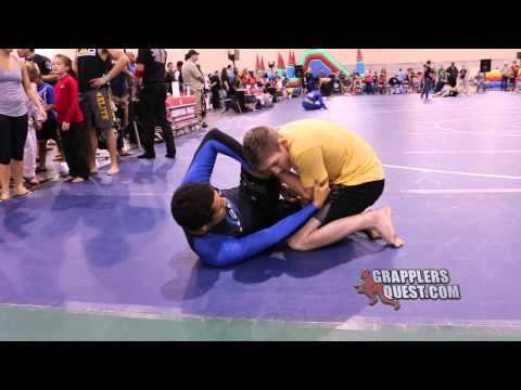 Submission-Advanced 160-169 lbs Adrian Nez vs Chris Robbins at Grapplers Quest Europa Games 2013