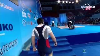 Тяжелая атлетика. Чемпионат Европы 2015 г. Мужчины до 94 кг.