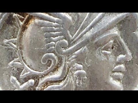Ancient silver Roman Republic Denarii bought on Ebay