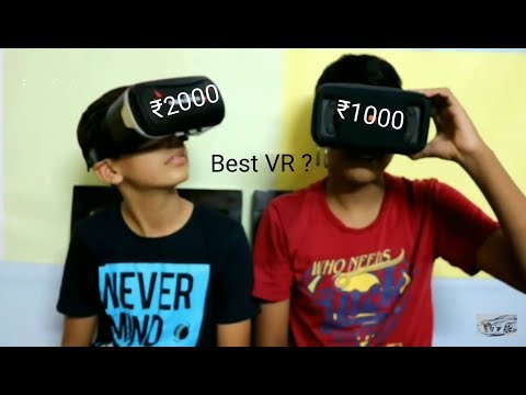 Which is the best VR under ₹1000 & ₹2000, comparison, which you should buy???