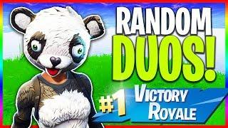 🔴 Random Duos (Fortnite LIVE Gameplay)
