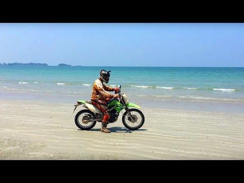 ISLAND DIRT BIKE RIDING through Jungles and beaches! Krabi, Koh Lanta, Thailand