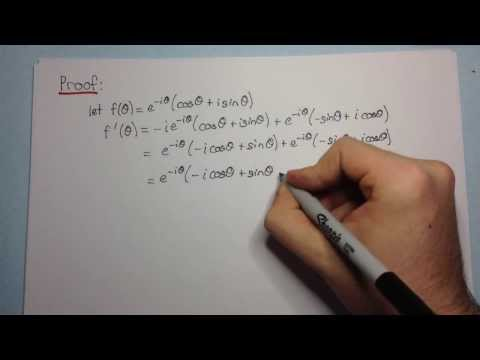 Euler's Formula - Proof WITHOUT Taylor Series