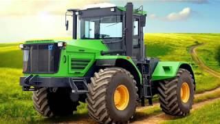 10 российских тракторов: наши поля - наши машины.