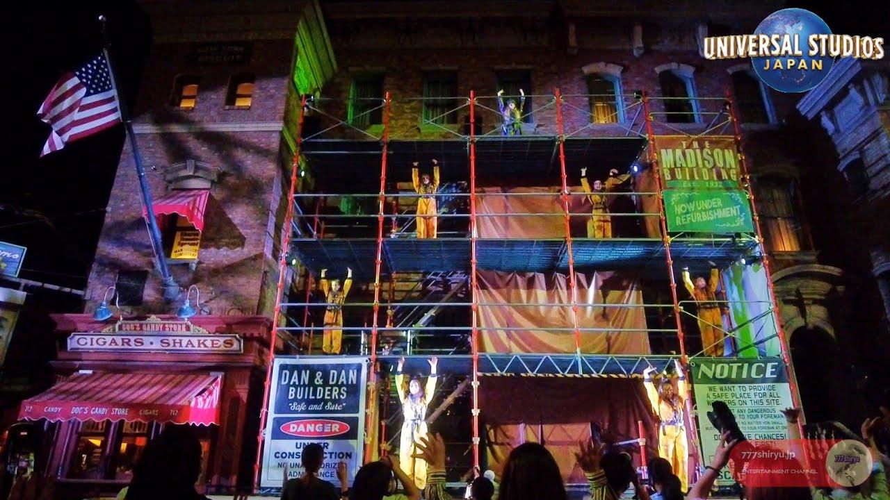 【USJ】ハロウィンホラーナイト ゾンビショー サイコストリート ユニバーサルスタジオジャパン Halloween Zombie Dance show Universal Studios Japan