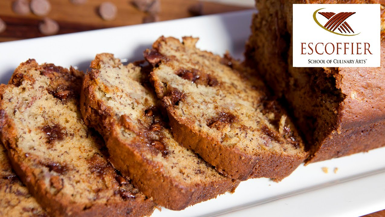 Chocolate chip banana bread recipe youtube chocolate chip banana bread recipe forumfinder Choice Image