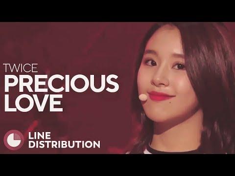 TWICE - Precious Love (Line Distribution)