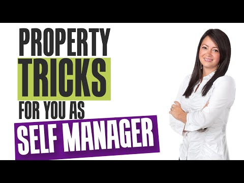 Property Tricks for you as a Self Manager - Leasing Trick #1