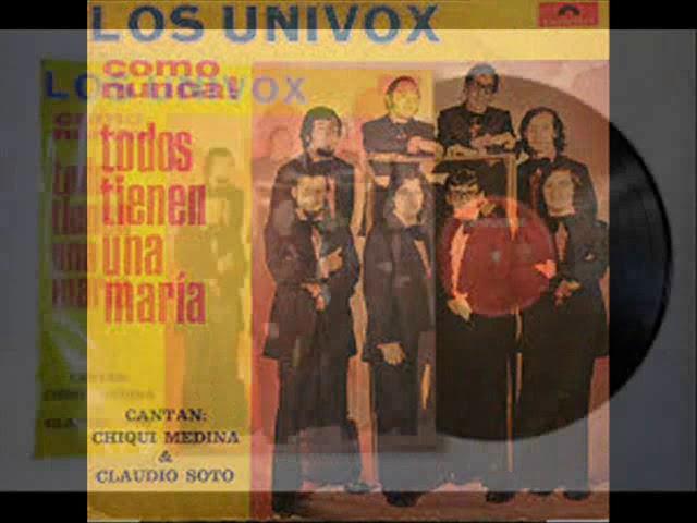 Los Univox- Lagrimas Negras