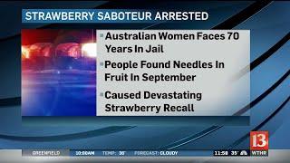 Australia Strawberry Arrest