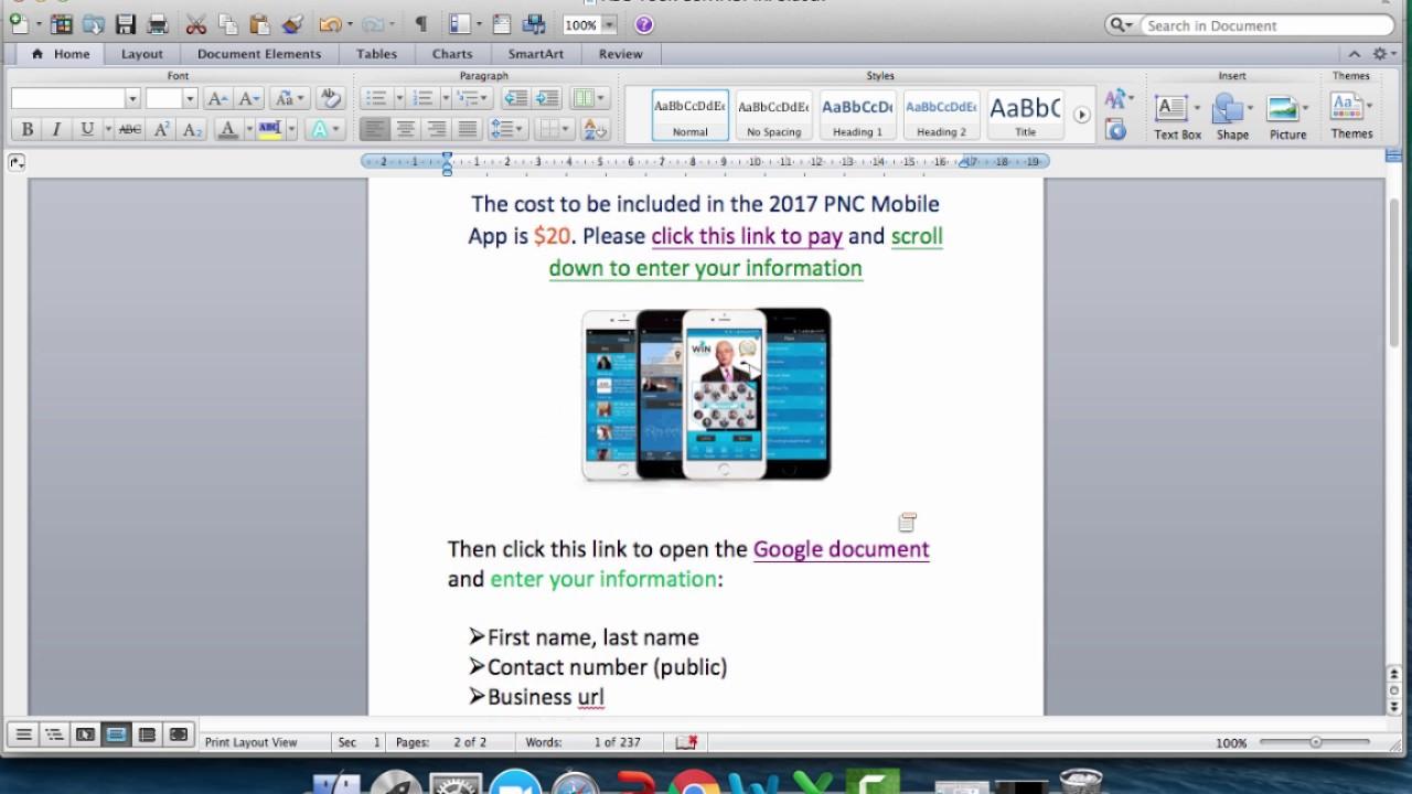 2017 PNC Mobile App Info