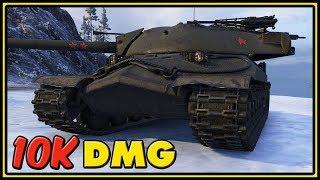 IS-7 - 10K Dmg - World of Tanks Gameplay