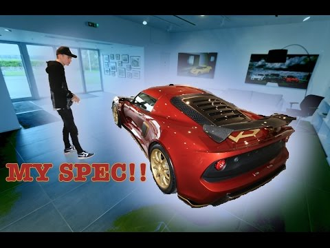 Full Tour My Lotus Exige Sport 380 Youtube