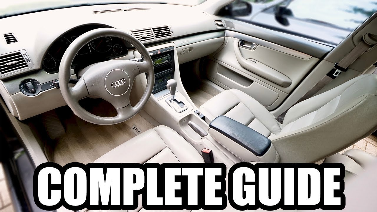 How To Detail The Interior Of Your Car Complete Guide