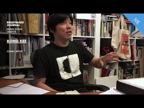 Readymade Journal / HK / Kong Kee / Comic Artist