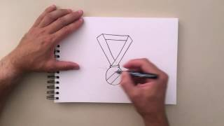 How to Draw - Medal