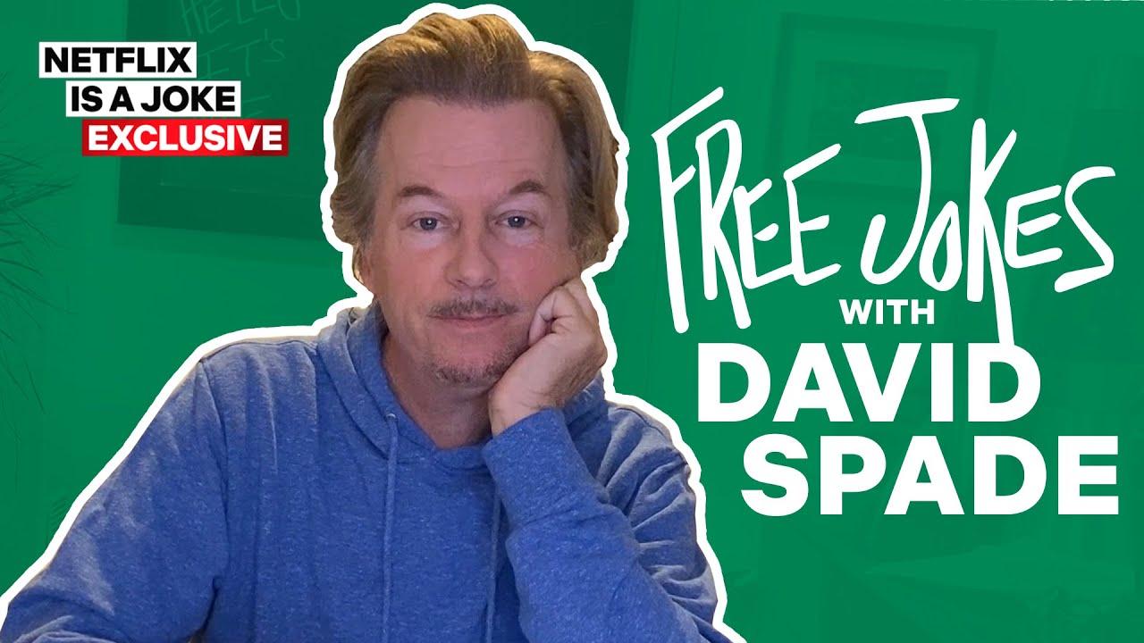 Free Jokes with David Spade: Golden Globes, Dr. Seuss, Woody Allen & More