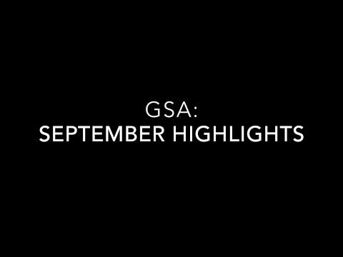 GSA: September Highlights