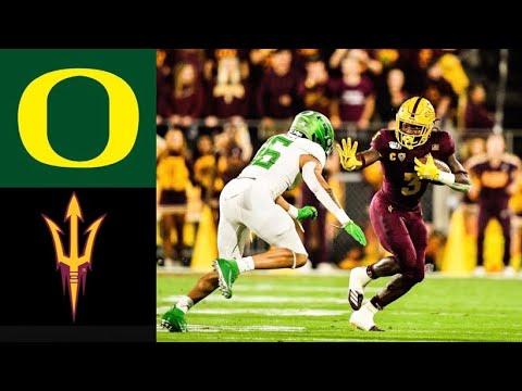 #6 Oregon Vs Arizona State Highlights | NCAAF Week 13 | College Football Highlights