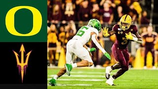 #6 Oregon vs Arizona State Highlights | NCAAF Week 13 | College Football Highlights