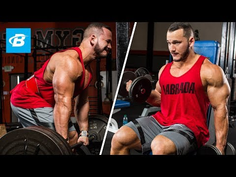 High-Volume Back & Biceps Workout | Hunter Labrada