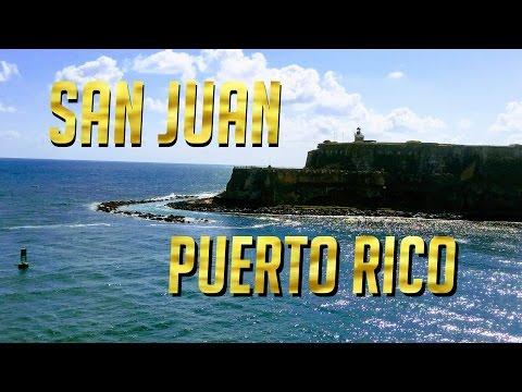 San Juan Puerto Rico 2017 Tour & Review  MSC Divina Cruise - El Morro Fort