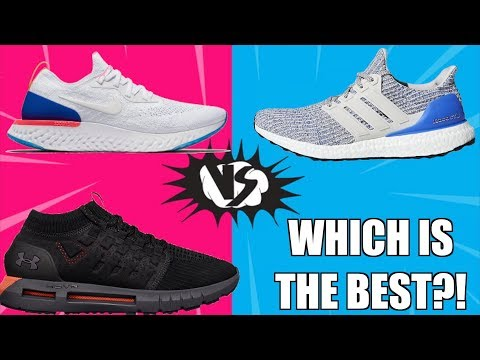NIKE REACT vs Ultra BOOST vs HOVR COMPARISON ( FLYKNIT VS PRIMEKNIT )