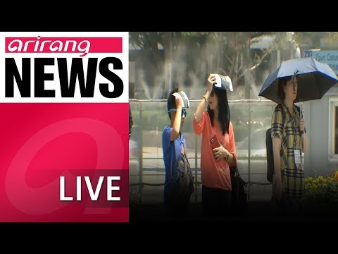 [LIVE/NEWSCENTER] First Day Of August Brings Hottest Weather On Record - 2018.08.01