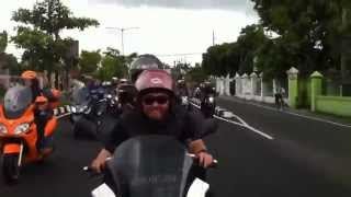 Piaggio club indonesia ride to jogja 2011