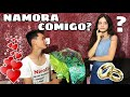PEDIDO DE NAMORO DA NICOLLY!! (ELA CHOROU?) - YouTube