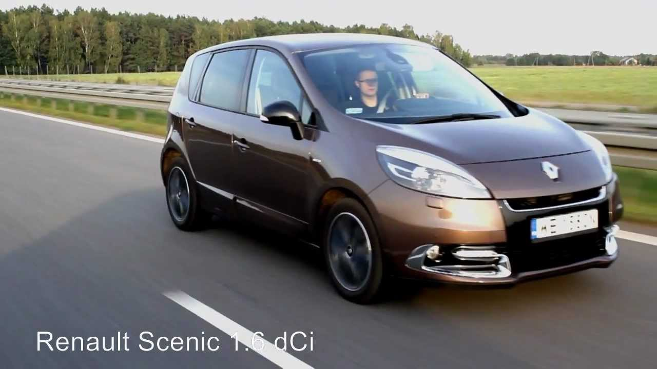 test renault scenica 1 6 dci bose edition youtube. Black Bedroom Furniture Sets. Home Design Ideas