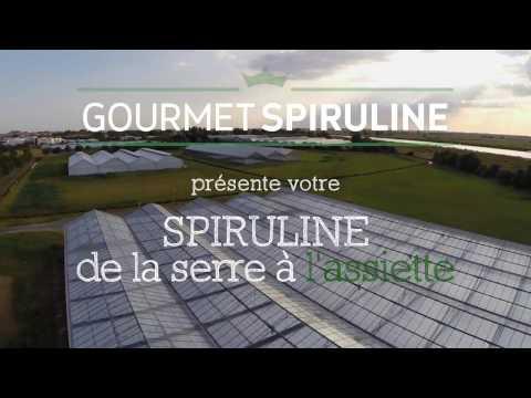 Spiruline française, de la serre à l'assiette   GOURMET SPIRULINE