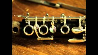 Overhaul and silvering of Amati Bb clarinet made in Czechoslovakia.