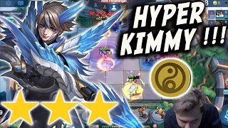 GILA INI HYPER KIMMY CADIA WIMSLAYER GUNNER BINTANG 3 PAKE GOLDEN STAFF ! ATTACK SPEED KAYAK CHEAT !
