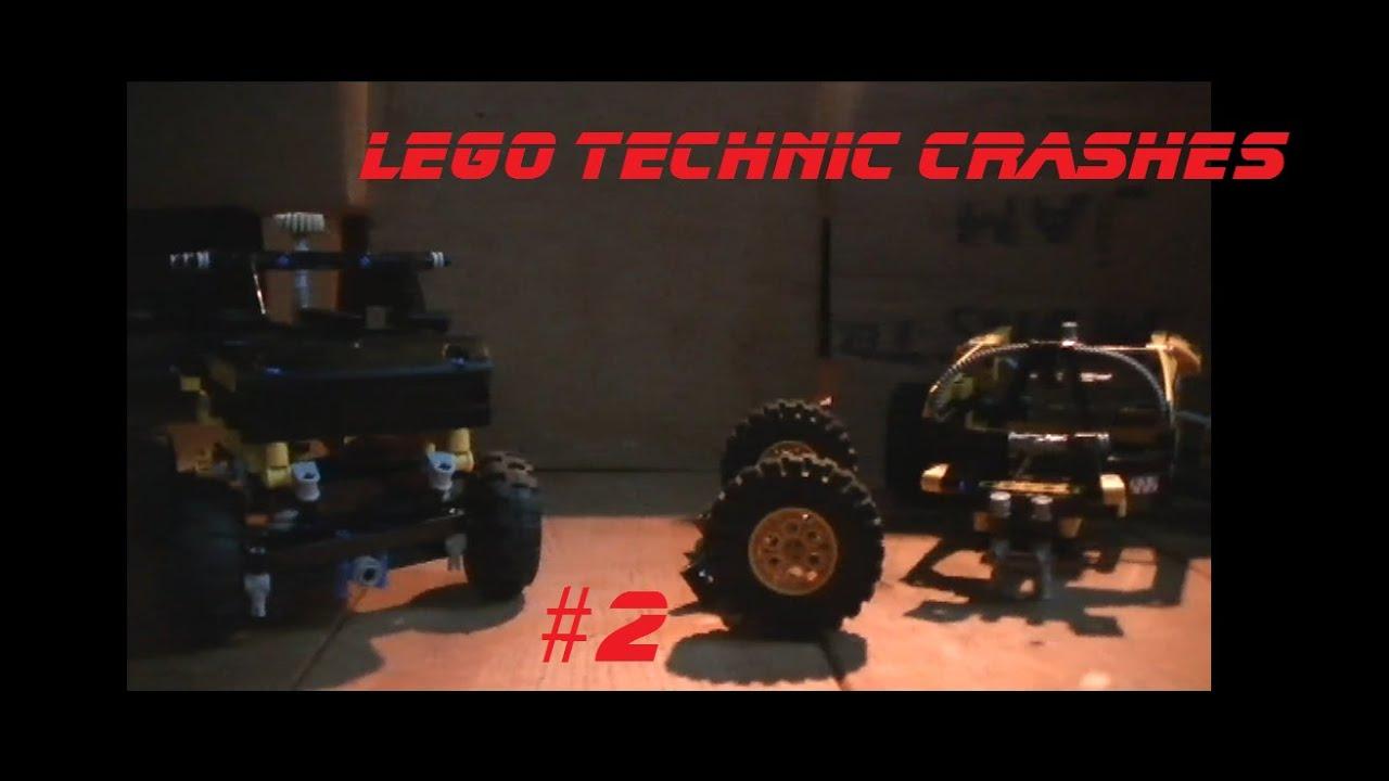 lego technic crash compilation 2 youtube. Black Bedroom Furniture Sets. Home Design Ideas