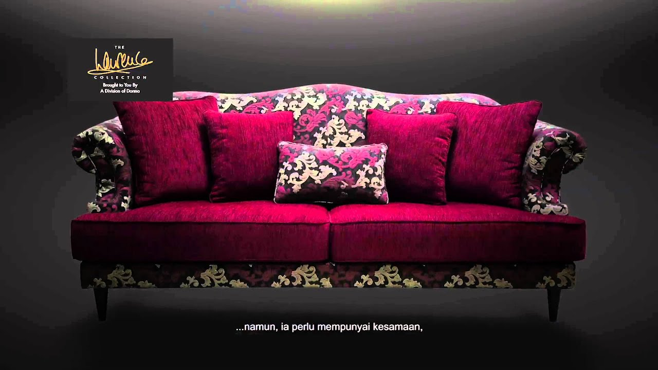 courts sofa standard height malaysia rekaan set laurence llewelyn bowen youtube