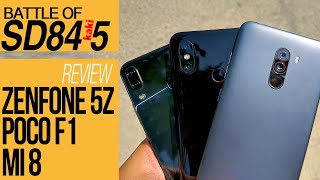 BATTLE FLAGSHIP KAKI LIMA : Poco F1 - Asus Zenfone 5Z - Xiaomi Mi 8 (REVIEW INDONESIA)