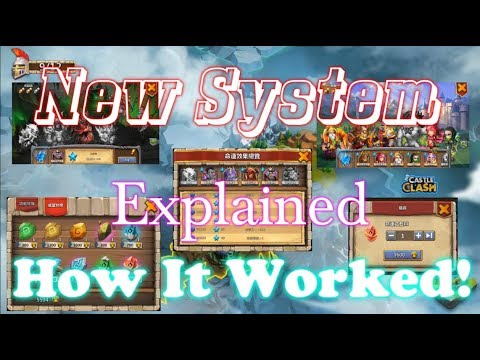 New Heroic Destiny System Explained! Castle Clash