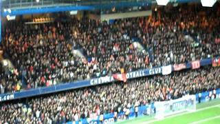 Chelsea vs Liverpool at Stamford Bridge 29/11/2011