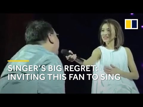 China: Why you should not invite your fan to sing