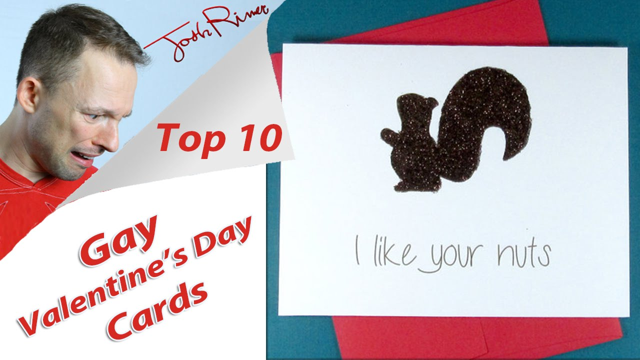 10 terrible gay valentines day cards youtube - Gay Valentines Cards