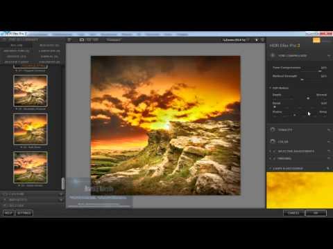 Photoshop CC HDR Efex Pro2 плагин