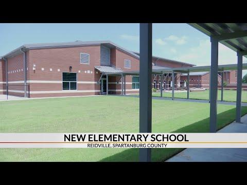 New Reidville Elementary School opening August 19th