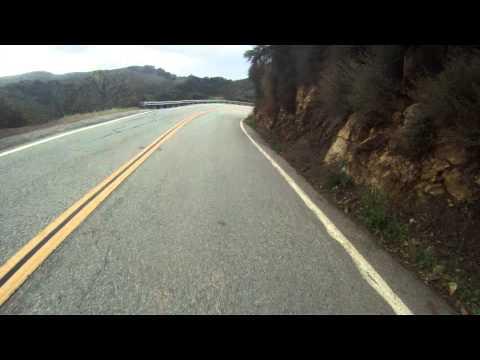 Latigo canyon road to Mulholland hwy