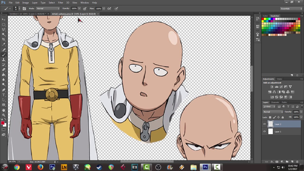 How to draw chibi anime character in photoshop cs6 lineart tutorial how to draw chibi anime character in photoshop cs6 lineart tutorial saitama one punch man baditri Choice Image
