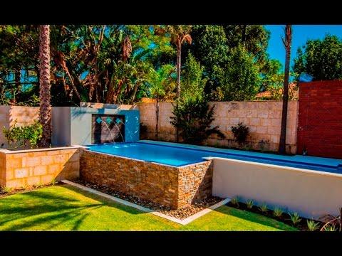 15 Meter Infinity Edge Lap Lane Swimming Pool In Perth Western Australia