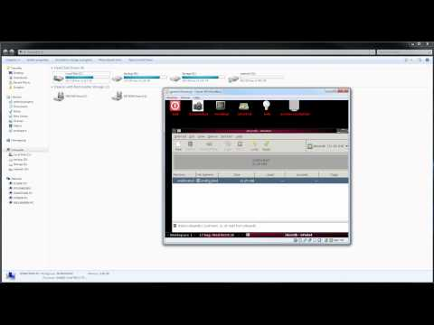 how to repair a corrupted flash drive using gparted