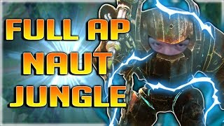ACTUAL ONE SHOTS WITH ULT?!? FULL AP NAUTILUS JUNGLE IS INSANE FUN!! - League of Legends Patch 7.20