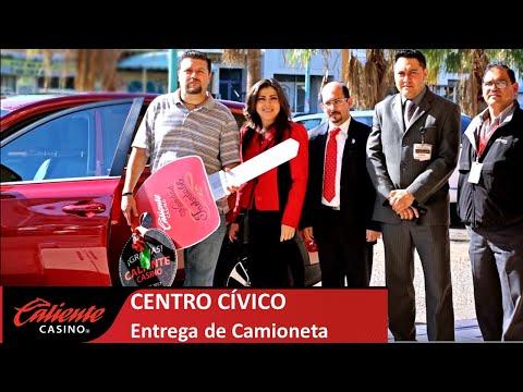 Entrega de Camioneta en Caliente Casino Mexicali Centro Civico